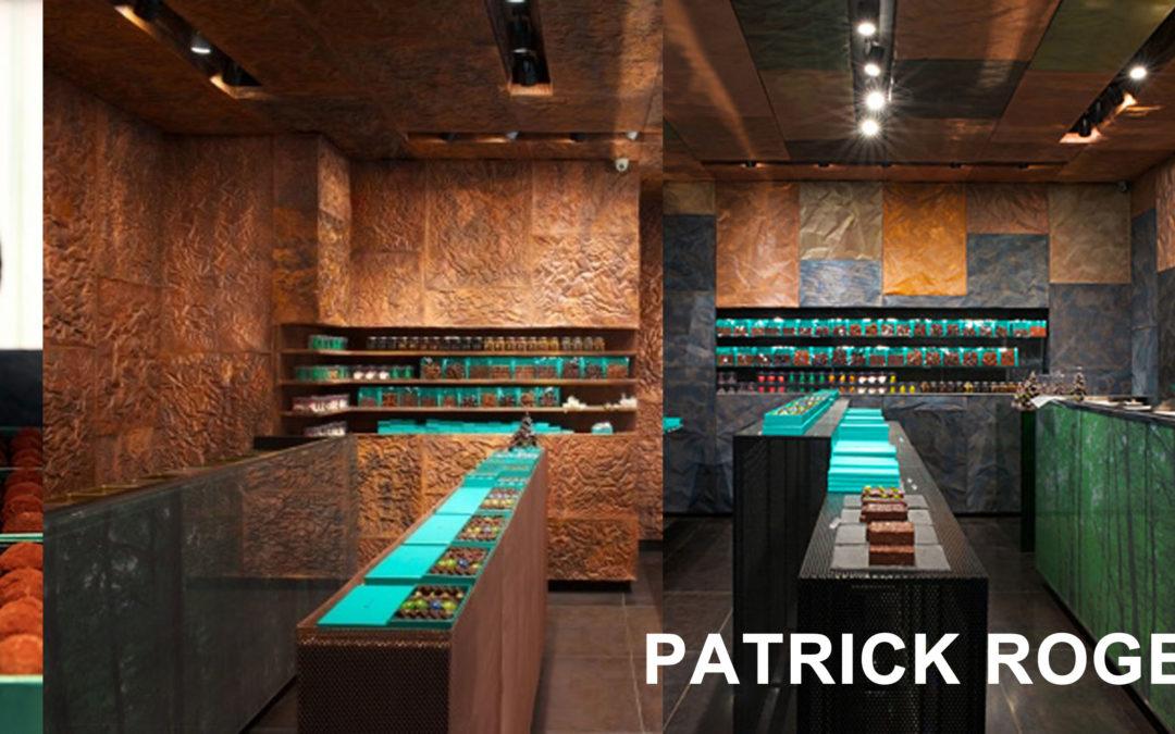 Patrick Roger & La chocolaterie : entre architecture et émotion