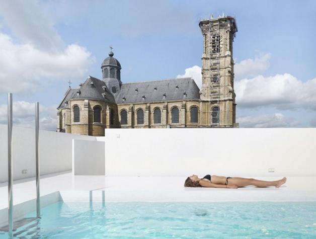 Piscine religieusement votre for 11 commandements piscine