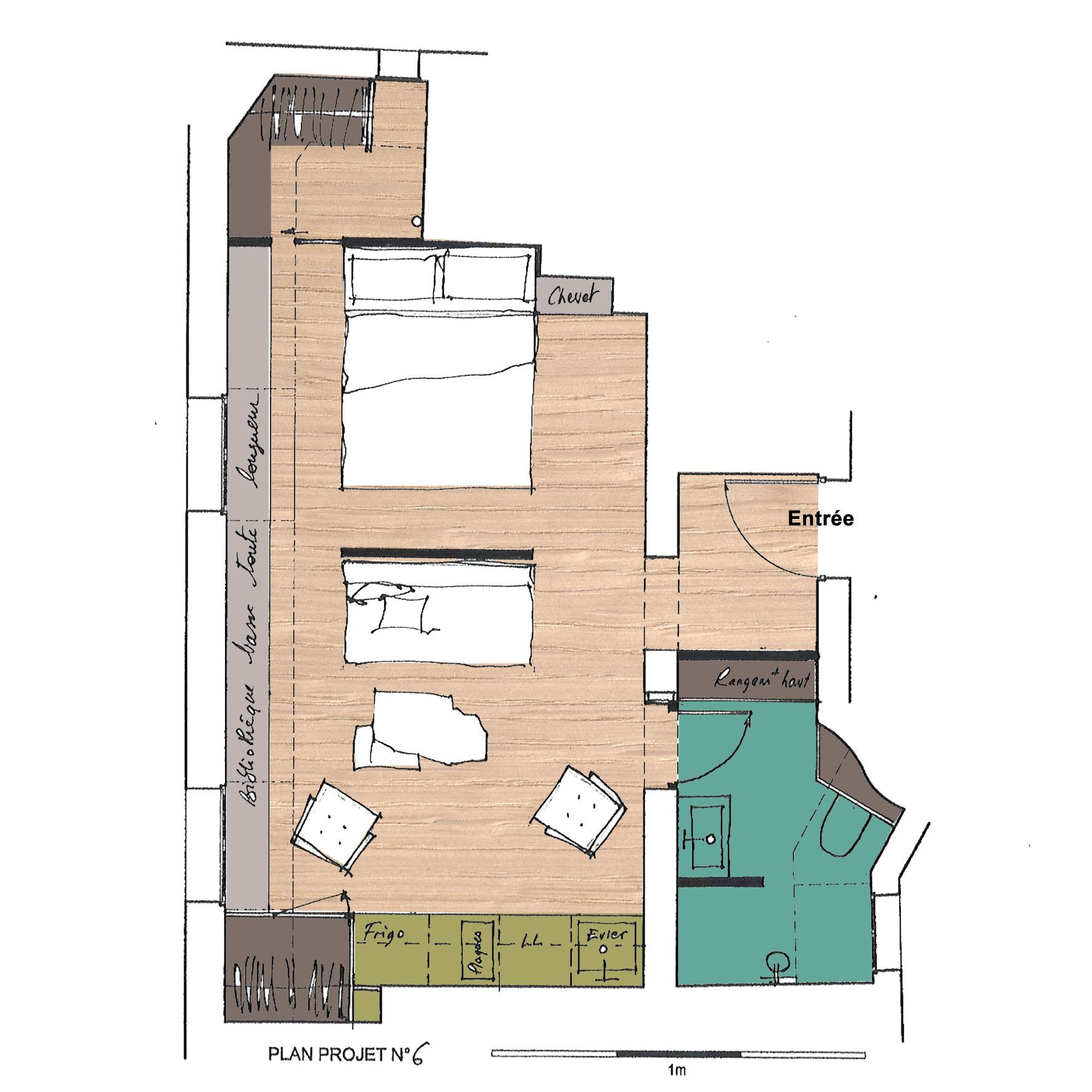 am nager et optimiser les petits espaces. Black Bedroom Furniture Sets. Home Design Ideas