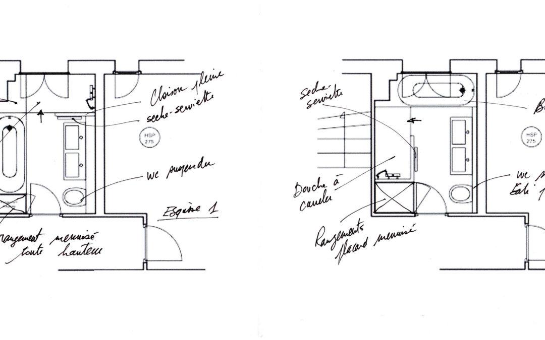 Les esquisses en architecture intérieure : La phase clé de votre projet