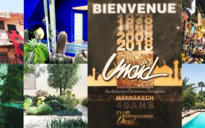 Rendez-vous de l'Union Nationale des Architectes d'Intérieur (UNAID) à Marrakech