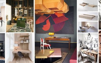Inspiration : aménager le coin bureau idéal pour travailler de chez soi !