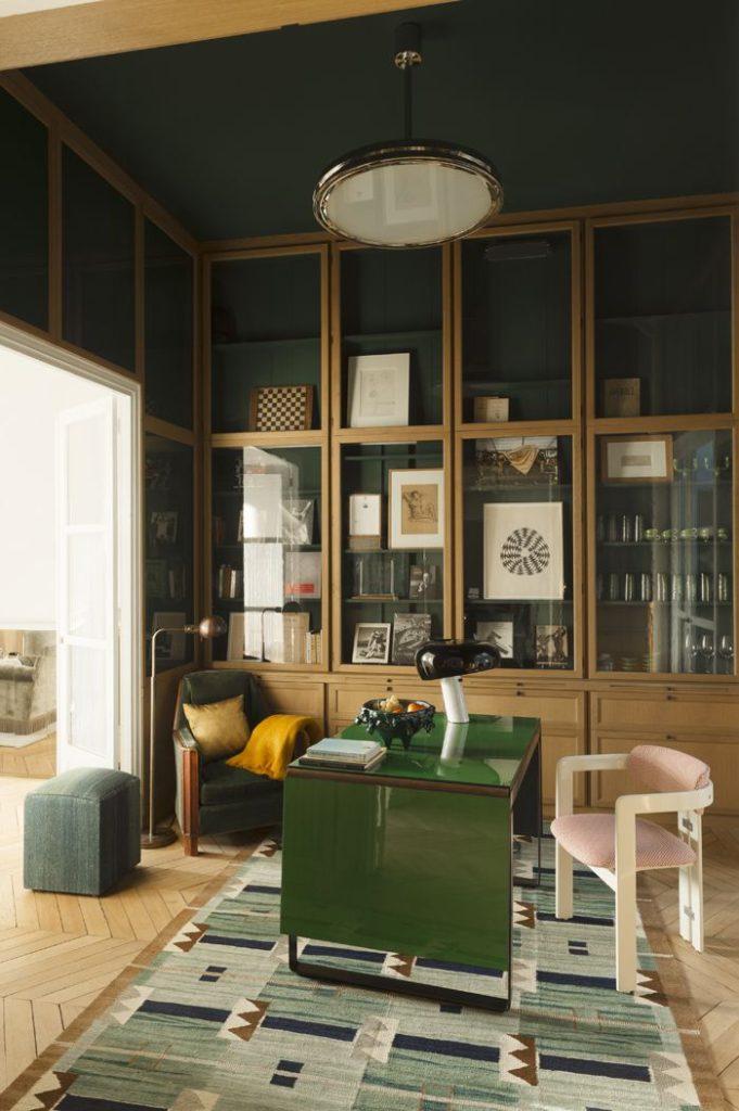 Un bureau chic vintage