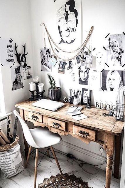 Un coin bureau de créatif