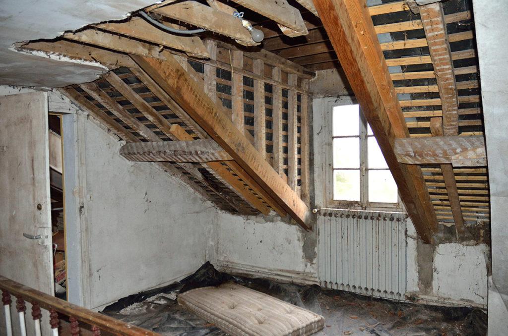 Rénovation d'une Maison de maître avant