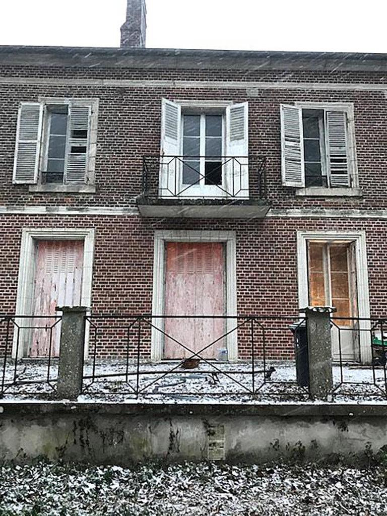Maison de maître avant façade extérieure