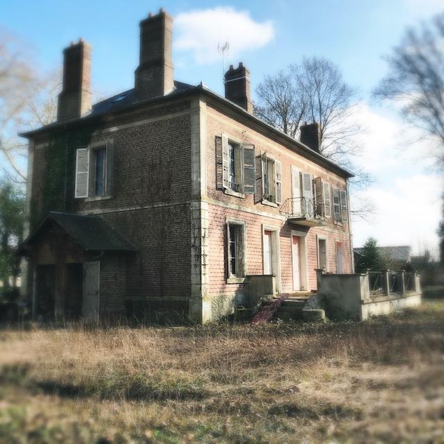 Maison de maître avant façade extérieure 4