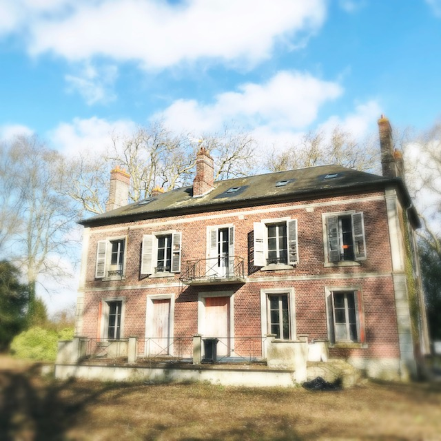 Maison de maître avant façade extérieure 1