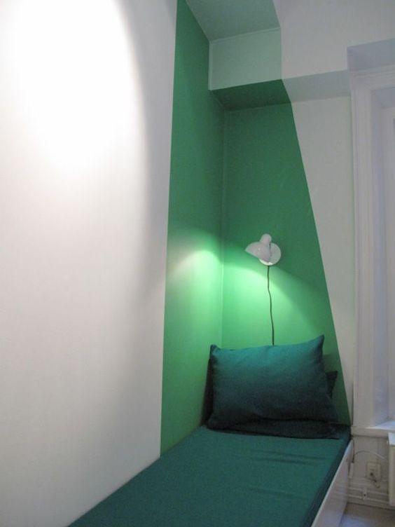 Peindre l'angle d'une pièce