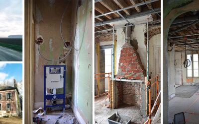 Avant-après : rénovation complète d'une maison de maître dans l'Oise – 2/5