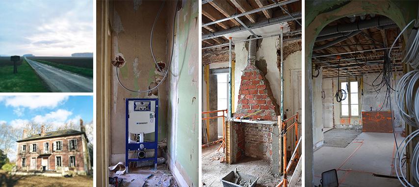 Les dessous de la rénovation complète d'une maison de maître dans l'Oise