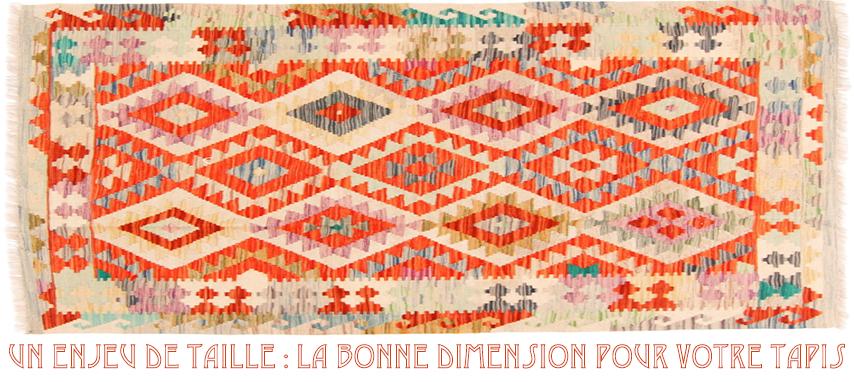 Un enjeu de taille : La bonne dimension pour votre tapis