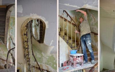 Les métiers «méconnus» de l'architecture d'intérieur : Le staffeur