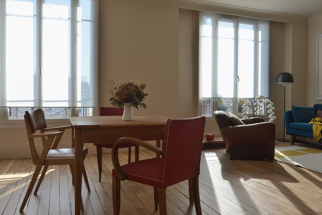 Projet de réaménagement d'un appartement ancien au Vésinet, Agence Oz by cath, architecture d'intérieur