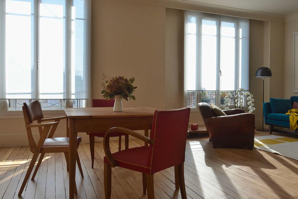 Projet de réaménagement d'un appartement ancien année 30 au Vésinet, Agence Oz by cath, architecture d'intérieur