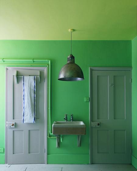 La couleur dans son intérieur. Article Oz by cath