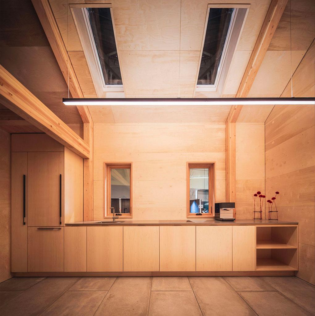 Petite maison pensée par l'agence Leckie Studio - Article Oz by cath