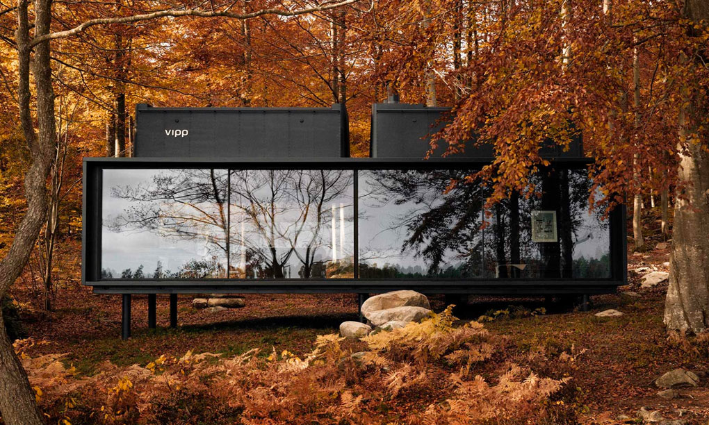 Petite maison pensée pour Vipp par Morten Bo Jensen - Article Oz by cath