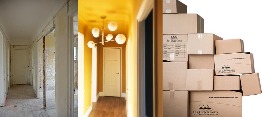 Article déménagement et chantier vu par un architecte d'intérieur