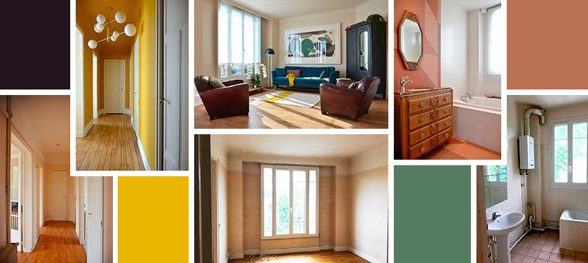 Avant-après : un appartement années 1930 modernisé